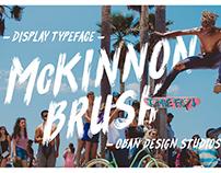 McKinnon Brush Typeface