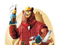 Father Bear Illustrations