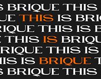 BRIQUE - FREE SERIF FONT