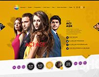 Show tv Web Design