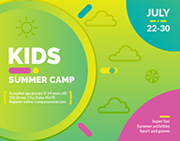 Kids Summer Camp | Modern and Creative Templates Suite