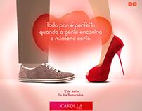 Anúncio Dia dos Namorados Carolla