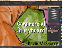 Video: Commercial Storyboard Frame