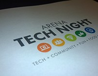Arena Tech Night Email Branding