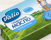 "Design of the concept butter ""Valio"""