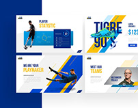 Playmaker – Football Powerpoint and Keynote Template