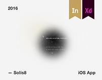 Solis 8 App #MadewithAdobeXd