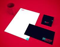 DISRUPTIV - Lettering logo