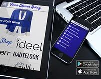 Graphic Design (Mobile App Mockup)
