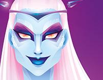 Ice evil witch