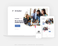 UI/UX Design Agency (Website)