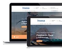 Insesa. Branding and UX Design