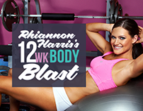 MissFit Body Shape Sports Model Landing Page Design