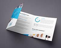 ProBiz – Business & Corporate Brochure Tri-Fold Square