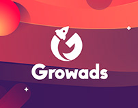 Growads UI & UX design and Branding