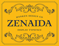 Zenaida — Display Serif Typeface