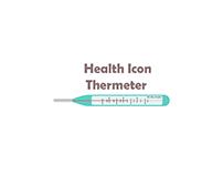 bix box studio - Thermometer Health Icon