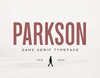 Parkson Typeface - Free Font
