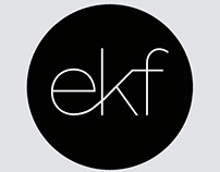 ekf - Monogramme