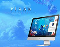 Pixar Animation Studios Website