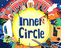 Inner Circle Magazine (Regents College) Illustrations