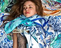 """Silk Scarves 'Tout ce qui Brille"""""""