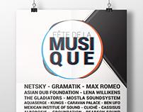 """POSTER, """"Fête de la musique"""" electro vibes"""