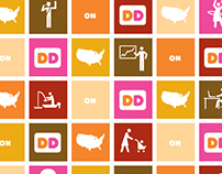 Icon Design for Dunkin' Donuts