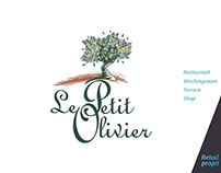 "Retail design for ""Le Petit Olivier"" brand"