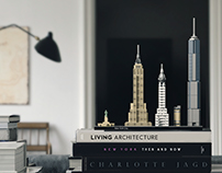 LEGO Architecture 21028 New York City packaging.