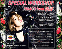"""""""SPECIAL WORKSHOP RICACO from 美豚"""""""