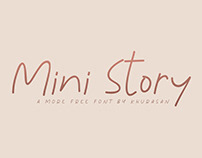 Mini Story Font - Free for commercial use