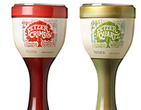 Fetzer Crimson & Quartz Alternative Packaging Design