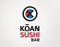 KOAN SUSHI Bar / brand identity