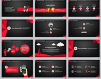 29+ red black business plan PowerPoint template