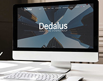 Dedalus website restyling
