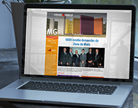 MG desenvolve - newsletter