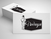 Подиум logotype design