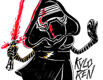 Star Wars: The Force Awakens Drawings