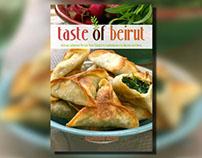 Taste of Beirut Book Cover Design