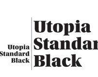 Utopia Standard Black Poster