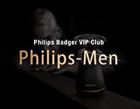 Philips-Men Mini-site