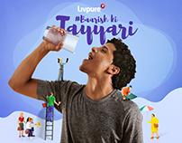 Livpure Monsoon Campaign