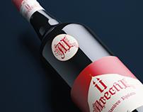ARECHI II   Wine Label Design