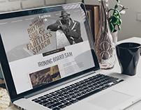 Ironing Board Sam Landing Page - Faultless Website
