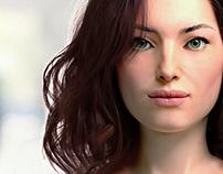 Azura - 3d realistic model