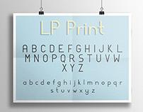 LP Print — Free Typeface