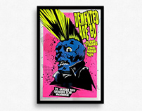 Demented Are Go – Gigposter