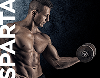 Sparta Fitness Club Networks - Landing Page