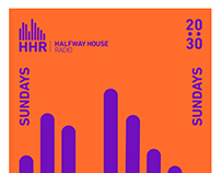 Halfway House Radio Poster